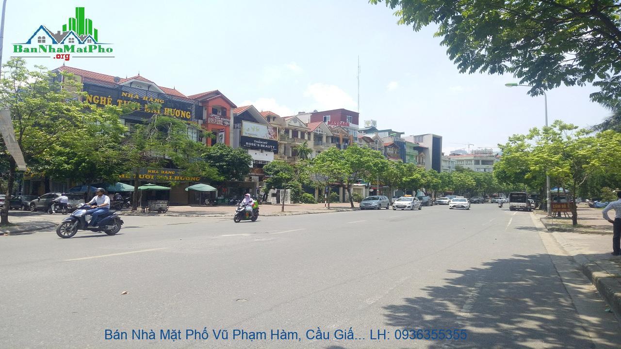 Bán Nhà Mặt Phố Vũ Phạm Hàm, Cầu Giấy, 155m2, 6 Tầng, Mặt Tiền 5,6m