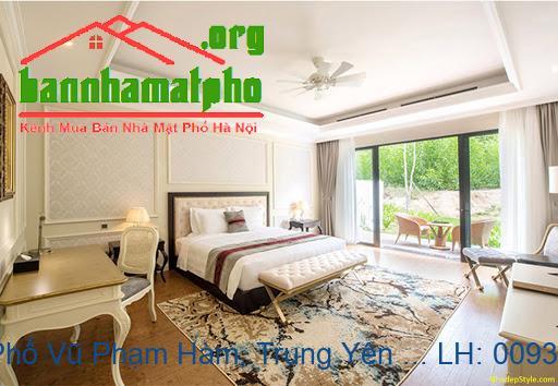 Bán nhà mặt Phố Vũ Phạm Hàm, Trung Yên 1 DT:137m2 giá 37tỷ