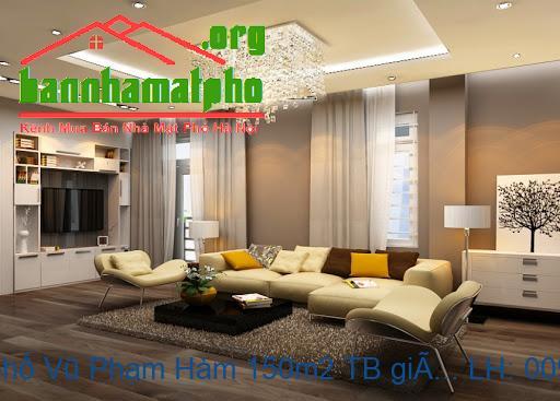 Bán nhà mặt phố Vũ Phạm Hàm 150m2 TB giá 41tỷ