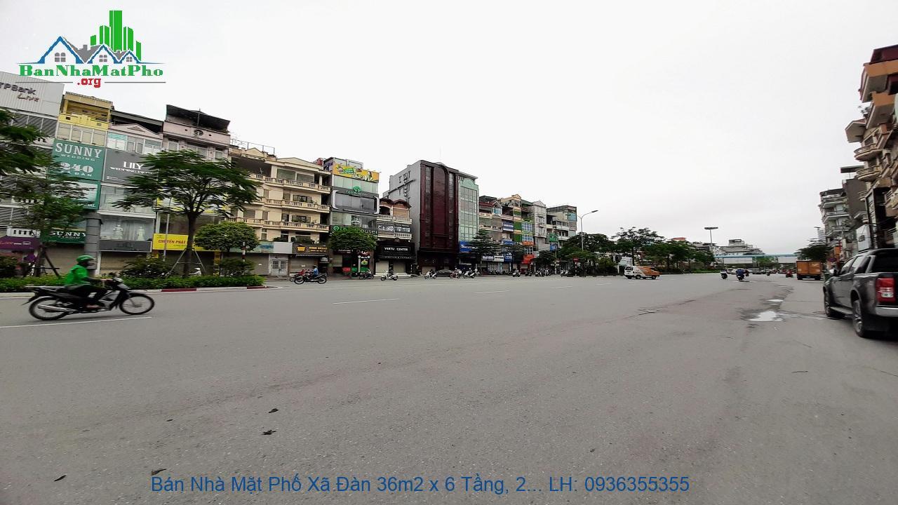 Bán Nhà Mặt Phố Xã Đàn 36m2 x 6 Tầng, 2 Mặt Tiền, Giá Rẻ