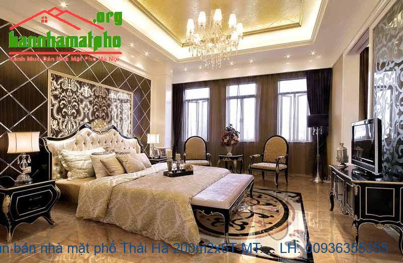Cần bán nhà mặt phố Thái Hà 200m2x6T MT:6m giá 85tỷ