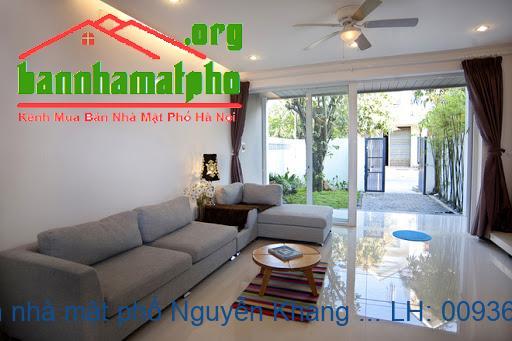 Chính chủ bán nhà mặt phố Nguyễn Khang 77m2x8T MT:9m giá 27tỷ