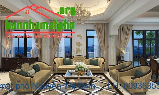 Cho thuê nhà mặt phố Nguyễn Thị Định 70m2 mt 5m nhà 5 tầng